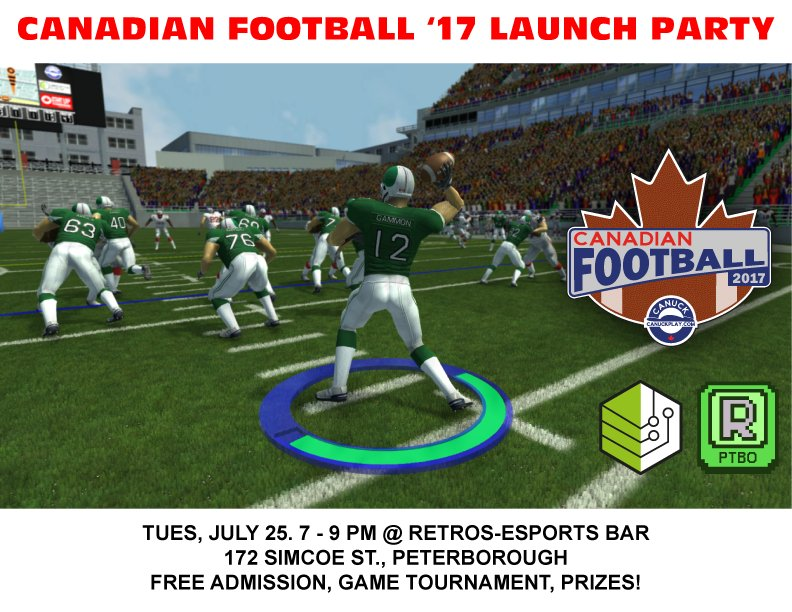 Canadian Football 2017 Launch Party